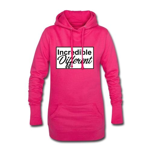 icredibledifferent_logo - Hoodie-Kleid
