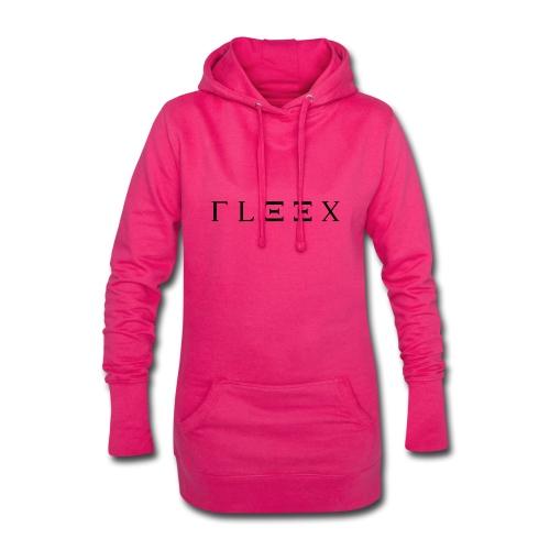 FLEEX LOGO MADE BY ME - Hoodie-Kleid