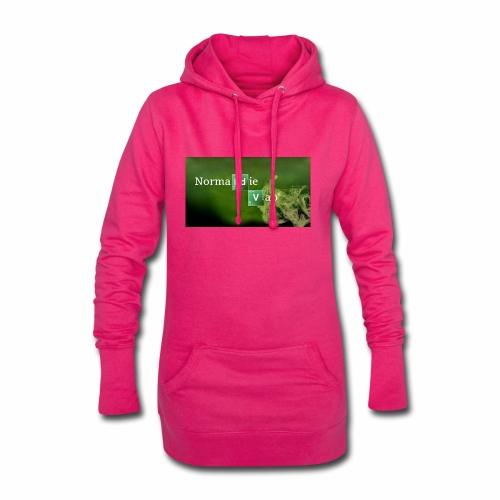 Normandie Vap' - Sweat-shirt à capuche long Femme