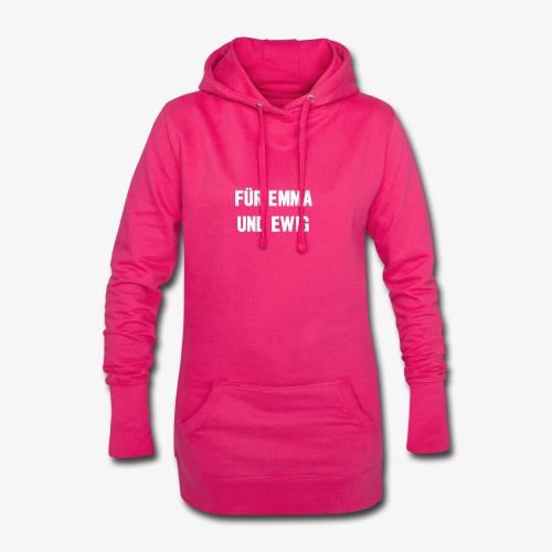 Für Emma und Ewig - Hoodie-Kleid
