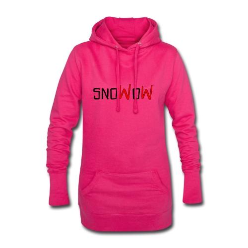 Snowow - Sudadera vestido con capucha
