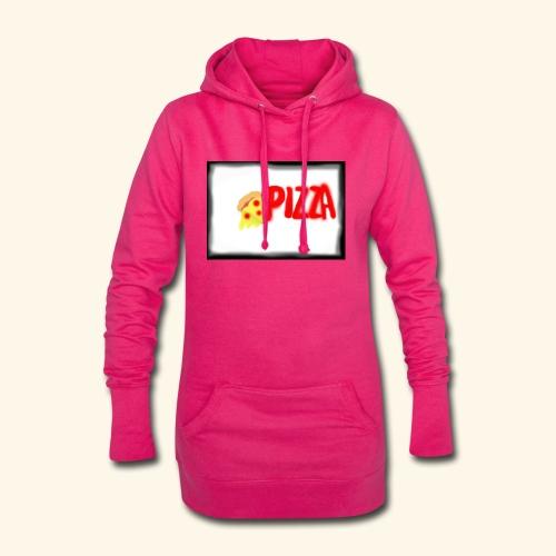 Pizza - Hoodie-Kleid
