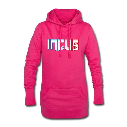 incus logo - Hoodie-Kleid