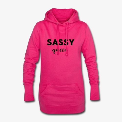 Sassy Queen - Sweat-shirt à capuche long Femme