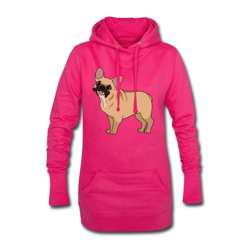 Friendly French Bulldog - Hoodie Dress