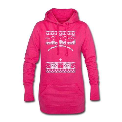 Paragliding Christmas Jumper - Hoodie Dress