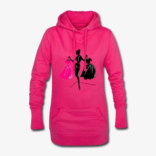 Mode - Hoodie-Kleid