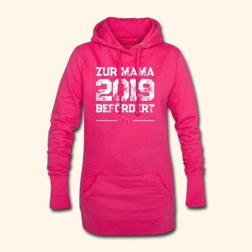 Zur Mama 2019 befördert - Schwangerschaftsgeschenk - Hoodie-Kleid