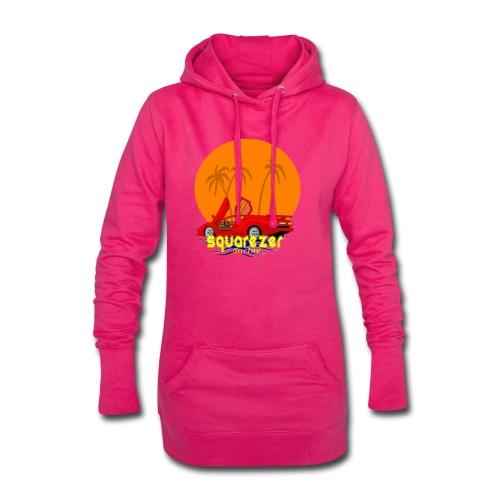 SaclayDrift - Sweat-shirt à capuche long Femme