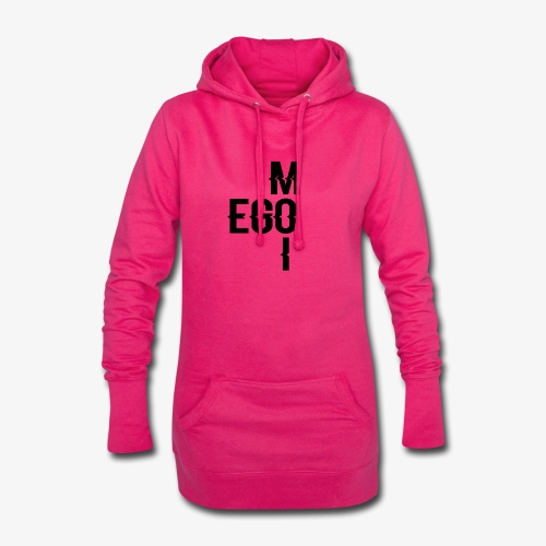 ego moi - Sweat-shirt à capuche long Femme