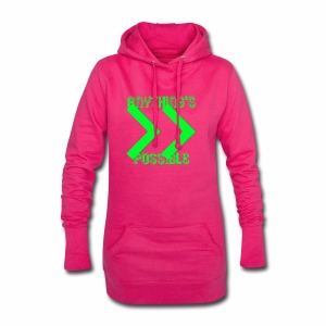 Future Clothing - Anything's Possible (Green) - Hoodie Dress