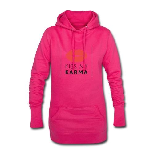 kiss my karma - Hoodie-Kleid