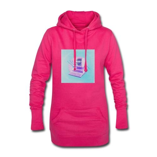 virtual - Hoodie-Kleid