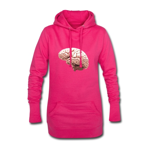 Brain - Sweat-shirt à capuche long Femme