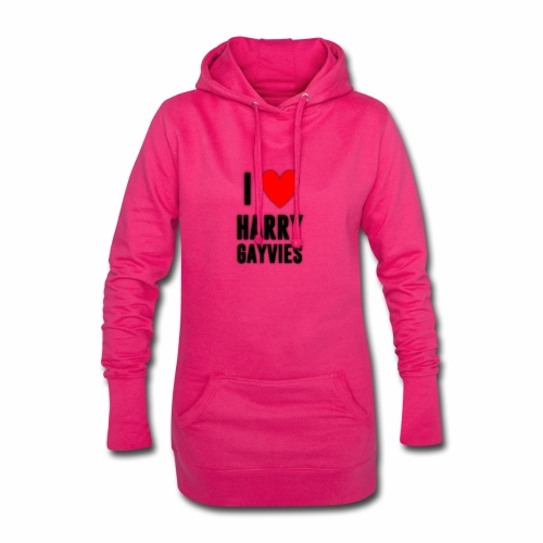 I <3 Harry Gayvies - Hoodie Dress