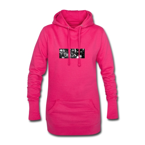 W8BOOKING OFFICIAL FACEBOOKPAGE - Hoodie-Kleid