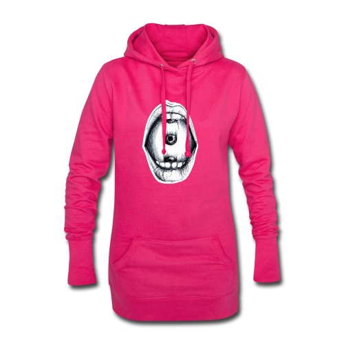 Roll the eye - Hoodie-Kleid