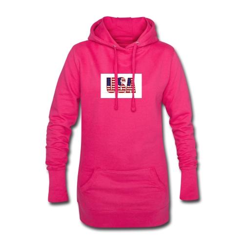 usa - Hoodie-Kleid