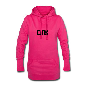 OTB Logo Black - Hoodie Dress