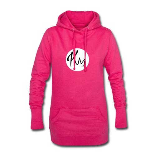 KM Logo - Hoodie-Kleid