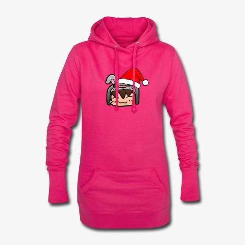 Weihnachtshase - Hoodie-Kleid