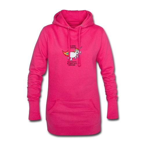 Unicorns are awesome - Hoodie Dress