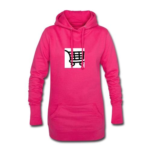 Einkaufswagen - Hoodie-Kleid
