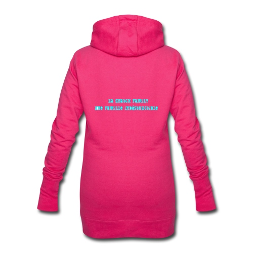 snatch family - Sweat-shirt à capuche long Femme