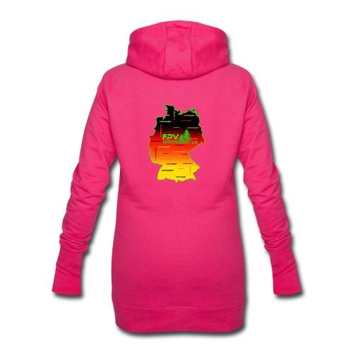 überall wohngibiit - Hoodie-Kleid