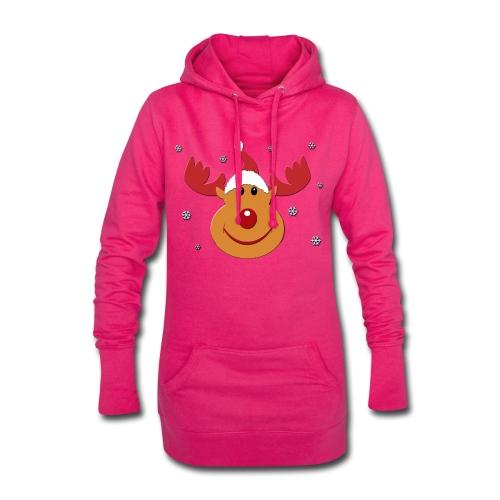 Rudolf for christmas - Hoodiejurk