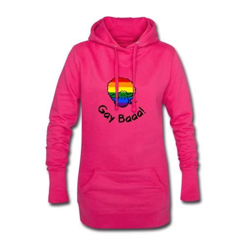 Homosexuell Baaa! Regenbogen-Stolz-Schafe - Hoodie-Kleid