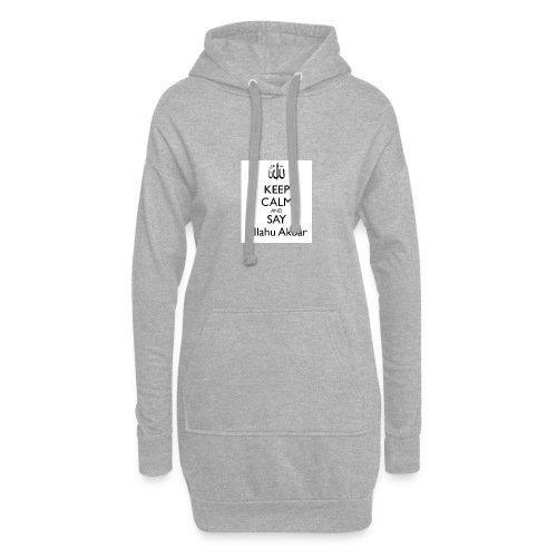 keep-calm-and-say-allahu-akbar - Hoodie-Kleid
