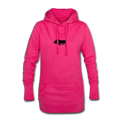 Bull-Nation - Sweat-shirt à capuche long Femme