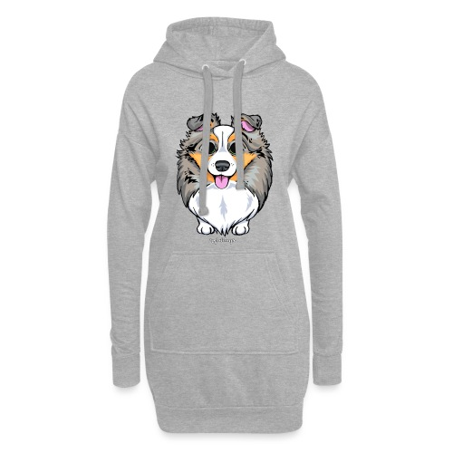 Sheltie Dog Cute 2 - Hoodie Dress