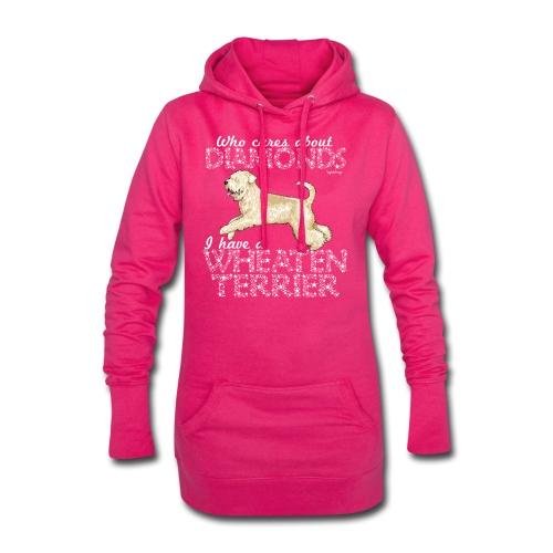 Wheaten Terrier Diamonds 4 - Hoodie Dress