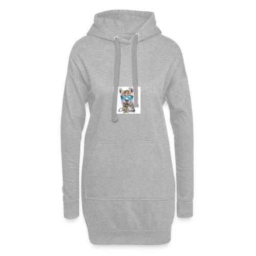 Cool Lama - Hoodie-Kleid