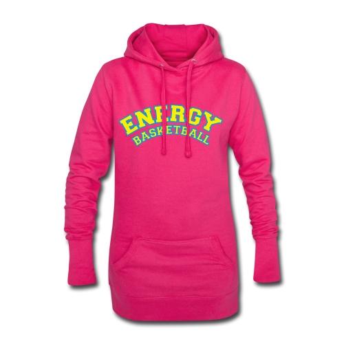 eco logo energy basketball giallo - Vestitino con cappuccio