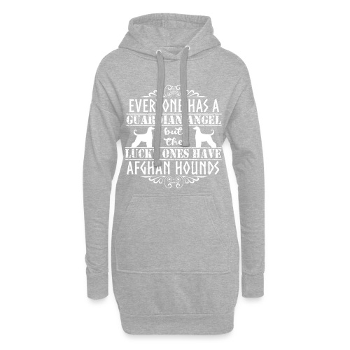 Afghan Hound Angels 2 - Hoodie Dress