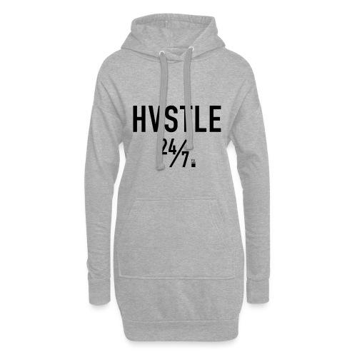 HVSTLE 24/7 Hoodie - Black Font - Hoodie-Kleid