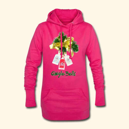GINgle Bells - Hoodie-Kleid