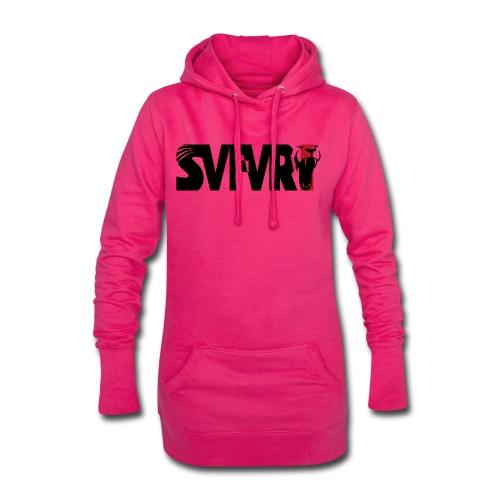 Safari Logo SCHWARZ - Hoodie-Kleid