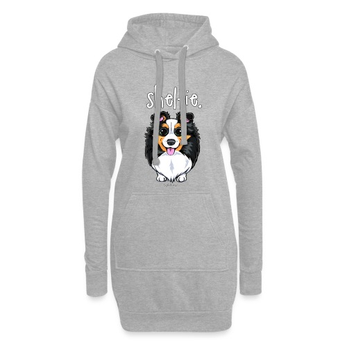 Sheltie Dog Cute 6 - Hoodie Dress