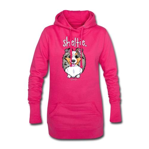 Sheltie Dog Cute 4 - Hoodie Dress