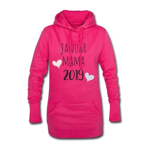 Januar Mama 2019 - Hoodie-Kleid