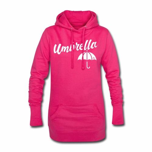 Umbrella Inc. Tipo sobre logo - Sudadera vestido con capucha