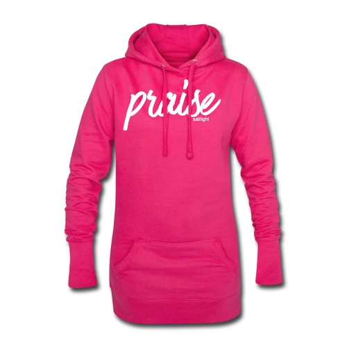 Praise (WHITE) - Hoodie Dress
