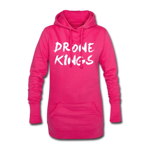 dronekings-whitetext-outlines - Luvklänning