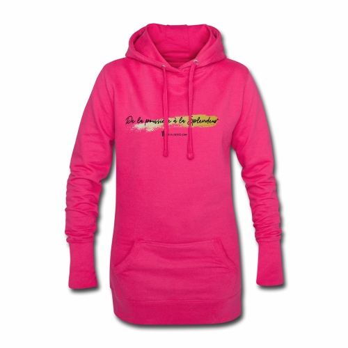 Splendeur - Sweat-shirt à capuche long Femme