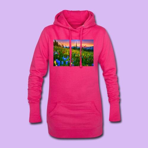 Bagliori in montagna - Vestitino con cappuccio