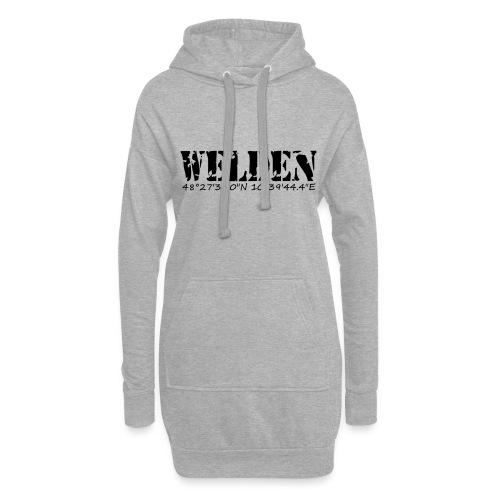 WELDEN_NE - Hoodie-Kleid